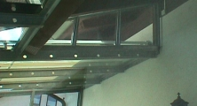 Dach Detailansicht